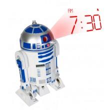 Star Wars R2-D2 Projektor-Alarmklocka