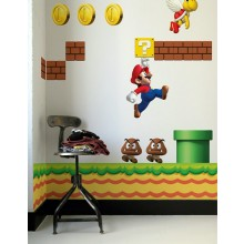New Super Mario Väggdekaler