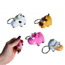 Naughty Animal Nyckelring