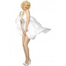 Klassisk Marilyn Monroe-halterneckklänning