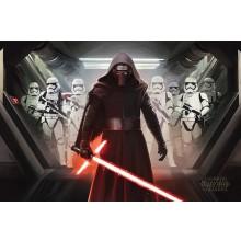 Star Wars Kylo Ren & Stormtroopers Poster 61 x 91,5cm