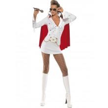 Elvis Viva Las Vegas-dräkt dam