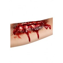 Stort öppet sår, latex