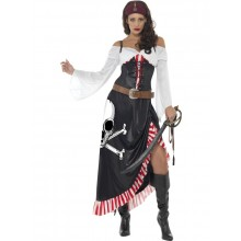 Läcker piratdräkt dam