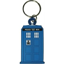 Doctor Who TARDIS Gummi Nyckelring