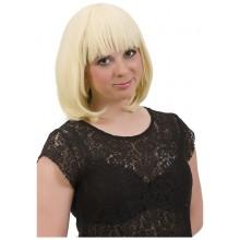 Blond Page Peruk
