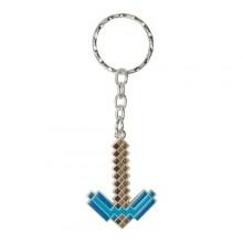 Minecraft Diamond Pickaxe Nyckelring