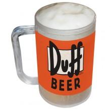 Simpsons Duff Frysbart Ölglas