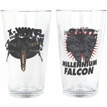 Stora Star Wars-glas