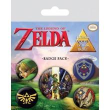 The Legend of Zelda Pins 5 st