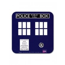 Dr Who Underlägg Tardis