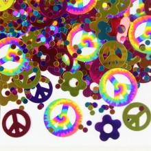 Konfetti Hippie 60-tal