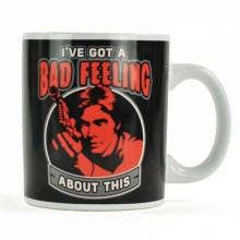 Star Wars Han Solo Bad Feeling mugg