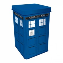 Doctor Who Tardis Plåtburk