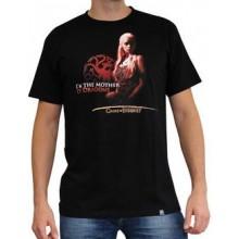 GoT Mother of Dragons T-Shirt Svart