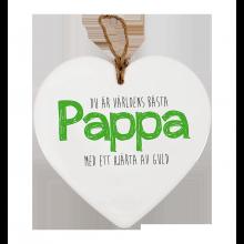 Meddelande Hjärta Pappa