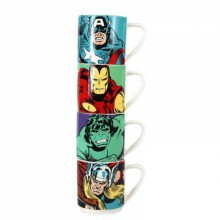 Marvel Muggar 4-pack