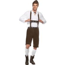 Bayersk Kostym för Män