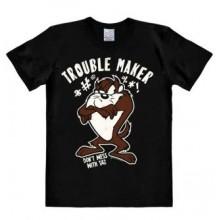Looney Tunes Trouble Maker T-Shirt Svart