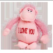 Mjukisdjur Apa I Love you