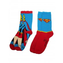 Supergirl Strumpor 2-pack