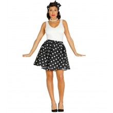Rockabilly Svart Pinup