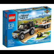 LEGO City Great Vehicles Stadsjeep med vattenskoter