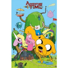 ADVENTURE TIME HOUSE POSTER