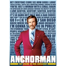 ANCHORMAN QUOTES POSTER