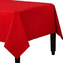 Bordsduk Röd Papper