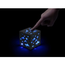 Minecraft Light-Up Diamond Ore Lamp