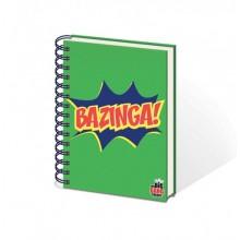 BIG BANG THEORY BAZINGA A5 ANTECKNINGSBLOCK
