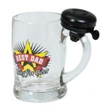 Best Dad Ring for a Beer - Ölglas