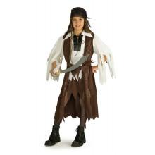 Pirat Drottning Maskeraddräkt Barn