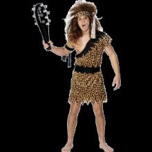 Grottmänniska Kostym