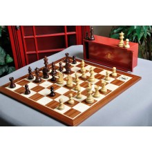 The Championship Series Chess Set and Board Combination