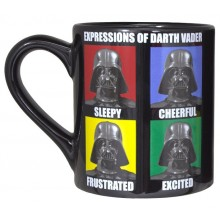 Star Wars Darth Vader Expressions Mugg