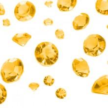 Bordsdekoration Diamant Guld