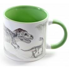 Värmekänslig Dinosaurie Mugg