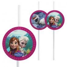 Sugrör Frozen 6-pack