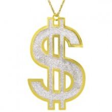 Halsband Guld Dollar