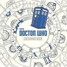 Dr Who  Målarbok För Vuxna