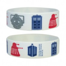 DOCTOR WHO SILICON ARMBAND