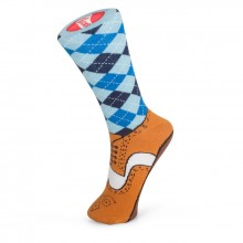 Brogue Strumpor Silly Socks