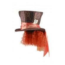 Alice I Underlandet Hattmakarens Hatt Med Hår