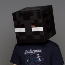 Minecraft Enderman Huvud