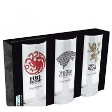 Game Of Thrones Glas 3-pack