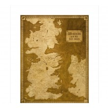 Game Of Thrones Westeros Karta Limited Edition