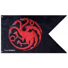 Game Of Thrones Flagga Targaryen