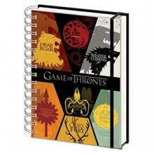 Game of Thrones Anteckningsbok Sigil